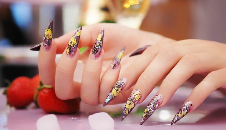 Роспись ногтей от китайских мастеров